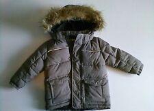 Warme Jacke gr 92 Jungen grau H&M