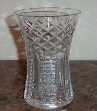 Waterford Cut Crystal Glass Vase