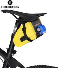 RockBros Waterproof Seat Bag Pouch Bike Bicycle Saddle Rear Storage Tail Bag