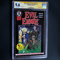 EVIL ERNIE SPECIAL LIMITED EDITION #1 💥 SIGNED BRIAN PULIDO! 💥 CGC 9.6 SS 1992