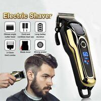 USA Electric Hair Cutting Trimmer Clipper Shaver Barber Haircut Cordless Machine