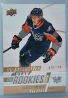 2017-18 Upper Deck CHL UD Exclusives #335 Star Rookies Rookie Hunter Holmes /100
