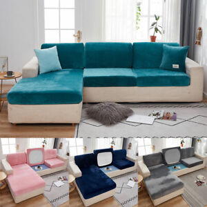 1/2/3 Seat Stretch Spandex Chair Sofa Couch Cover Elastic Slipcover Protector