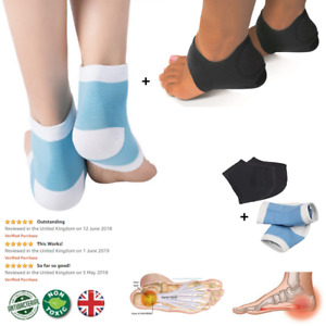 Plantar Fasciitis Foot Compression Support Heel | 2 Pairs | Arch Support