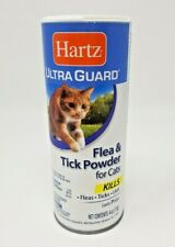 Hartz Ultra Guard Flea & Tick Cats Powder Kills Fleas Ticks Lice Lasts 7 Days