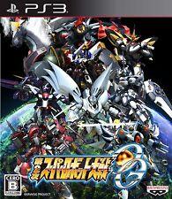 USED PS3 Super Robot Wars OG 2nd  Taisen Japan Import