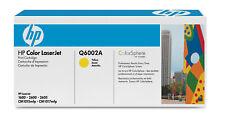 original HP  Q6002A gelb Toner für  Laser Jet 2600N 1600  2605 A-Ware