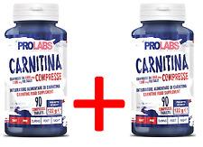 PROLABS - 2 x CARNITINA 1000 mg - 90 + 90 Compresse - Bruciagrassi