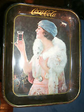 Beautiful Classic 1973 reproduction of a 1925 coca cola serving tray