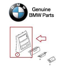 For BMW E90 E91 328i 323i Sedan Rear Center Black Schwarz Covering Ashtray OES