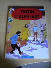 Tintin et L'alph Art Hergé EO 1988 version RAMO NASH Noir et Blanc