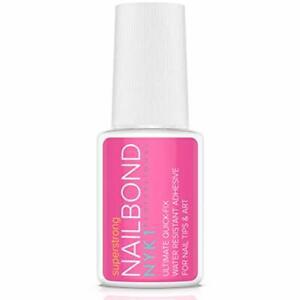Super Strong Nail Glue for Acrylic Nails and Press on Nail Bond Acrylic Glue