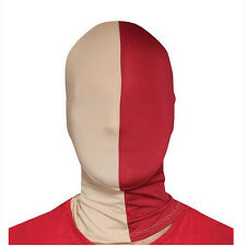 Morphsuits Gold & Maroon Team MorphMask Costume Mask One Size Fits Most Adults