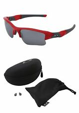 New Authentic Oakley Flak Jacket XLJ. Infrared w/ Black Iridium