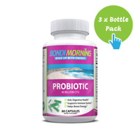 Probiotic 40 Billion CFU Complex, Immune Support Supplement - 60 Caps x 3