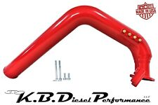 Red 6.6l Duramax Cold Side Intercooler Intake Tube LBZ LMM 06-10 Chevy GMC