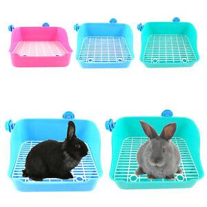 Rabbit Litter Box Corner Toilet Cage Potty Pet Pan for Ferret Pets Supplies