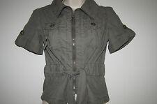 Lovely girls green short sleeve jacket new look generation 9 yrs