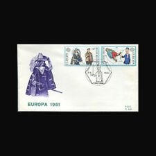 Belgium Sc #1069-70, First Day Cover, 1981, Europa, CEPT, 83085-1FXX