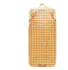 Luxuriant 120s Soft Mesh Cigarette Case w/ Lighter Pocket (GOLD)