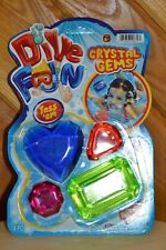 Crystals Gems Swimming Pool Dive Toys Diving Fun Diving 4-Count NEW IN PACKAGE