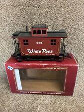 Bachmann G-Scale, 4 Wheel Caboose, White Pass Big Hauler in Original box train
