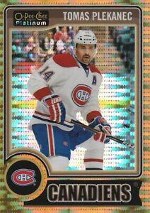 2014-15 OPC O-Pee-Chee Platinum Seismic Gold 45/50 Tomas PLEKANEC Canadiens