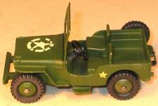 DINKY TOYS No 669 USA ARMY JEEP. US EXPORT ISSUE.EXCELLENT UNBOXED