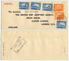 ADEN SHIP ADOPTION SOCIETY PRINTED ENVELOPE 1949