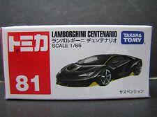 Takara Tomy Tomica 1:65 Lamborghini Centenario Diecast Car #81