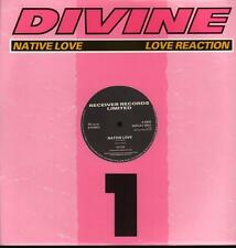 "Divine(12"" Vinyl)Native Love / Love Reaction-Replay-REPLAY 3001-UK-1986-NM/M"