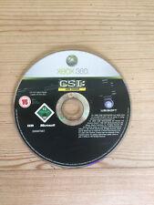 CSI: investigación escena del crimen evidencia duro para Xbox 360 * disco solamente *