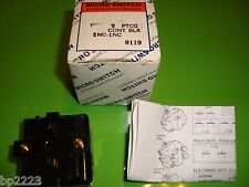 MICRO SWITCH PTCG CONTACT BLOCK PTCG FOR USE WITH PT & CMC OPERATORS, NEW IN BOX