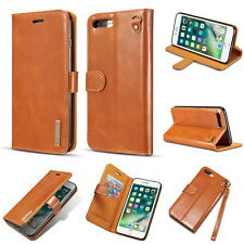 Super Slim Leather Flip Stand Wallet Case Cover For APPLE IPhone 7 Plus & 8 Plus