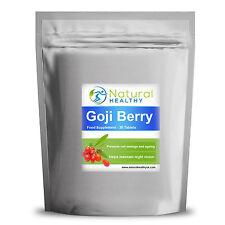 60 Bacche Di Goji 2000mg Compresse - Alto Tenore Antiossidante - Berries