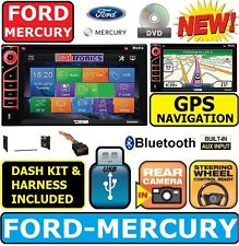 FORD MERCURY GPS NAVIGATION SYSTEM Bluetooth CD DVD USB AUX BT CAR Radio Stereo