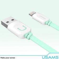 USAMS - Cable USB / Carga y Sinc. Apple Iphone / Ipad / Ipad Mini - Azul 1 Metro