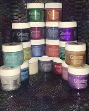 Angelus Brand Glitterlite Glitter Paint Leather & Vinyl 19 1oz Bottles Set - Kit