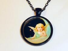 Modeschmuck-Halsketten & -Anhänger aus Glas und Legierung Märchen- & Fantasie-Themen