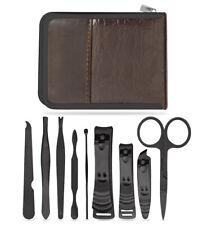 Nail Kit [10-Piece] Travel case included - Grooming Kit - Fingernail Kit