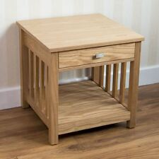 Ashton 1 Drawer Lamp Side Table Bedside Cabinet Furniture by Home Discount
