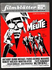Las hojas de película nº 38 15.9.1967 Nadja Tiller, Mie Hama, la manada