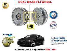 FOR AUDI A5 S5 3.0 TFSI TDI QUATTRO S TRONIC 2008 > NEW DUAL MASS DMF FLYWHEEL