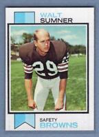1973 Topps #348 Walt Sumner EX-MT  High Grade Set Break