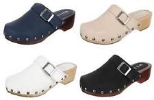 Markenlose Schuhe für Mädchen im Clogs-Stil mit Schnalle