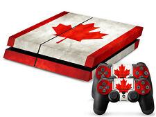 SONY PS4 PlayStation 4 SKIN Design Adesivo Pellicola Protettiva Set - CANADA