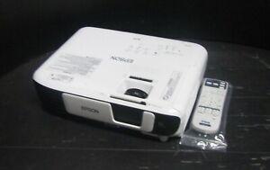Epson EB-X41 3600 Lumens Contrast 15,000:1 XGA HDMI 3LCD Projector 1714 Hours