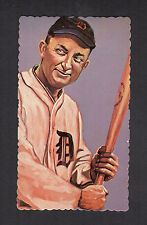 #1 TY COBB, Detroit Tigers (1984 RGI/Ron Lewis deckle edge Hall of Fame) 1/10K