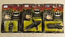 Batman Returns ERTL Die Cast Metal New on Card Figure LOT Batmobile MORE