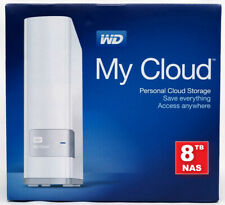 More details for wd - western digital my cloud 8tb nas gigabit ethernet usb 3 – wdbctl0080hwt